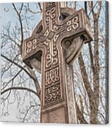 Celtic Cross   3d22463 Acrylic Print