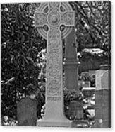Celtic Cross - Charleston South Carolina Acrylic Print