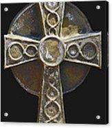 Celtic Cross Sepia Acrylic Print