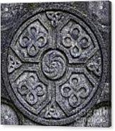 Celtic Cross Symbolism Acrylic Print