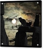 Celtic Nights Selective Coloring Acrylic Print