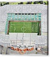 Celtic Park Stadia Art - Celtic Fc Acrylic Print