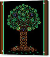 Celtic Tree Of Life Acrylic Print