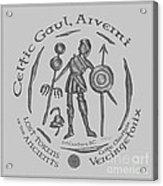 Celtic Vercingetorix Coin Acrylic Print