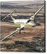 Cemair Beech 1900 Plane Airplane Flying Flight Acrylic Print