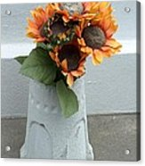 Cemetary Flowers 1 Acrylic Print