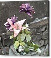 Cemetary Flowers 2 Acrylic Print