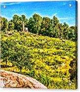 Cemetary Ridge Gettysburg Battleground Acrylic Print
