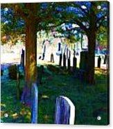 Cemetery Color 2 Acrylic Print