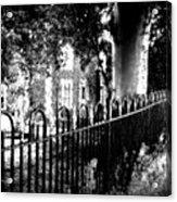 Cemetery Fence Acrylic Print