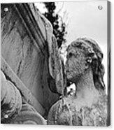Cemetery Gentlewoman Acrylic Print