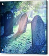 Cemetery Light Acrylic Print