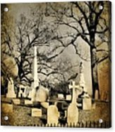 Cemetery Shades Acrylic Print
