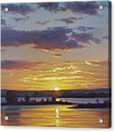 Central Coast Sunset Acrylic Print