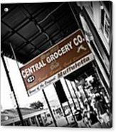 Central Grocery Acrylic Print