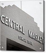 Central Market Acrylic Print