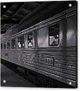 Central Of Georgia Railcar Acrylic Print