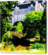 Central Park At 59th Street Acrylic Print