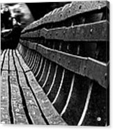 Central Park Bench Acrylic Print
