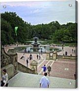 Central Park - Bethesda Fountain Acrylic Print
