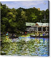 Central Park Boathouse Acrylic Print