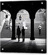 Central Park Bride II Acrylic Print