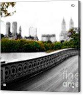 Central Park Bridge 2 Acrylic Print