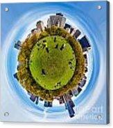 Central Park Circagraph  Acrylic Print