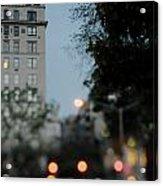Central Park Exit Acrylic Print