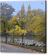 Central Park In Autumn 2 Acrylic Print