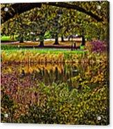 Central Park In Autumn - Nyc Acrylic Print