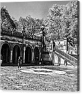Central Park - Near Bethesda Fountain Acrylic Print