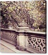 Central Park - New York Acrylic Print