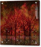 Central Park Ny - Featured Artwork Acrylic Print