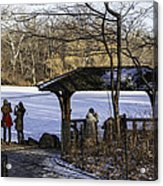 Central Park Photo Op 2 - Nyc Acrylic Print by Madeline Ellis