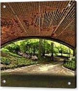 Central Park Underpass Acrylic Print