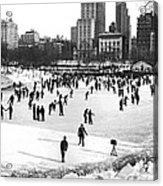 Central Park Winter Carnival Acrylic Print