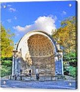 Central Park's Naumburg Bandshell Acrylic Print