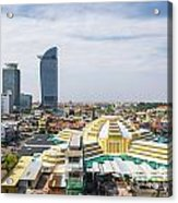 Central Phnom Penh In Cambodia Acrylic Print