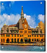 Central Railroad Of New Jersey Terminal Acrylic Print