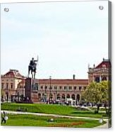 Central Railway Station Zagreb Acrylic Print