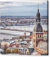 Central Riga Acrylic Print