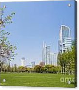 Central Shanghai In China Acrylic Print