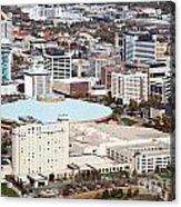 Century II Convention Hall And Downtown Wichita Acrylic Print