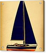 Ceq Black Sails Acrylic Print