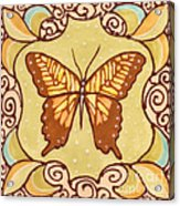 Ceramic Butterfly Acrylic Print