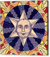 Ceramic Star Acrylic Print by Anna Skaradzinska