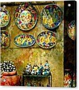Ceramica Italiana Acrylic Print