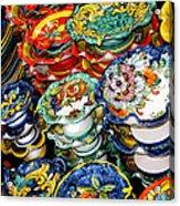 Ceramics Of Vietri Sul Mare  Acrylic Print