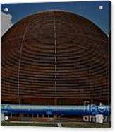 Cern Dome Acrylic Print